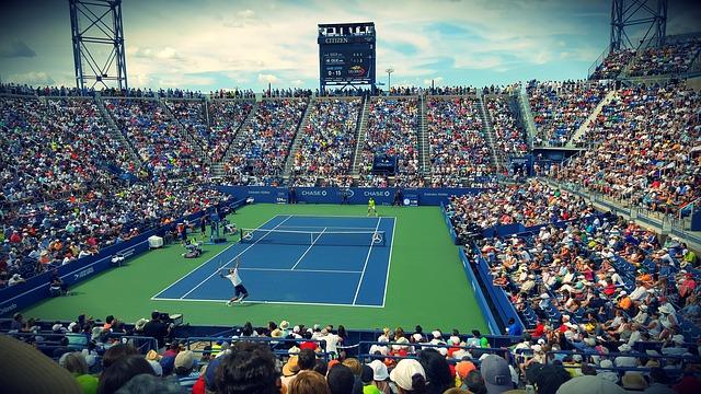 fanoušci tenisu