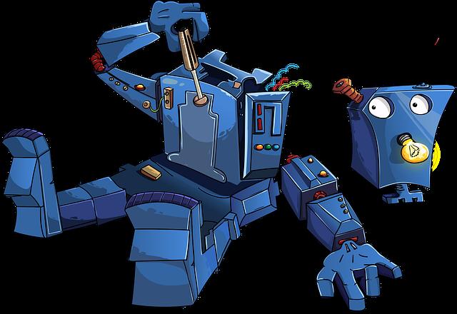 robot k sešroubování